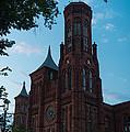 Smithsonian Castle Dawn by Steve Gadomski