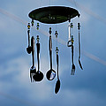 Smoky Mountain Windchime Poster by Christi Kraft