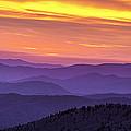 Smoky Sunset Panorama by Andrew Soundarajan