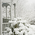 Snow Covered Porch by Keith Webber Jr