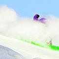 Snow Spray by Theresa Tahara