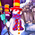 Snowman by George Rossidis