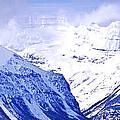 Snowy Mountains by Elena Elisseeva