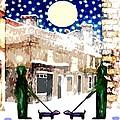 Snowy Night by Patrick J Murphy