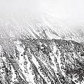 Snowy Ridge Abstract by Aaron Spong