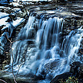 Snowy Waterfall by Jahred Allen