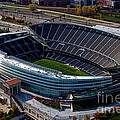 Soldier Field Chicago Sports 06 Print by Thomas Woolworth