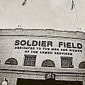 Soldier Field Print by Jessie Gould