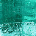 Soothing Sea - Abstract Painting by Linda Woods