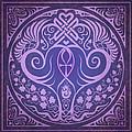 Soul Mates - Purple by Cristina McAllister