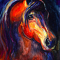 Soulful Horse Painting by Svetlana Novikova