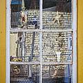 Souvenir store window Print by Elena Elisseeva