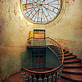 Spiral staircase and...