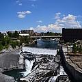 Spokane Falls And Riverfront by Michelle Calkins