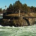 Spokane Falls - Spokane Washington by Beve Brown-Clark Photography