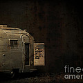 Spooky Airstream Campsite by Edward Fielding