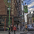Spring And Mulberry - Street Scene - Nyc by Madeline Ellis