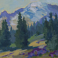 Spring At Mount Rainier by Diane McClary