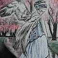 Spring Blossom Angel by Carla Carson
