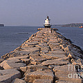 Spring Point Ledge Lighthouse by Bruce Roberts