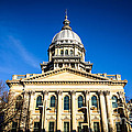 Springfield Illinois State Capitol Building by Paul Velgos