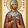 St Anastasios The Persian by Julia Bridget Hayes