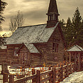 St Anne's Church In Winter by Randy Hall