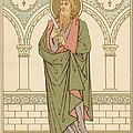 St Bartholomew Print by English School