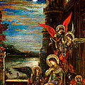 St Cecilia The Angels Announcing Her Coming Martyrdom by Gustave Moreau