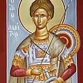 St Dimitrios The Myrrhstreamer by Julia Bridget Hayes