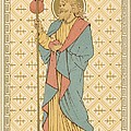 St James the Great Print by English School