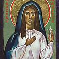 St Kateri Tekakwitha by Jennifer Richard-Morrow