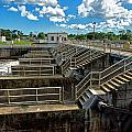 St Lucie Lock And Dam by Dan Dennison