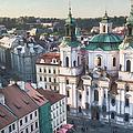 St Nicholas Prague by Joan Carroll