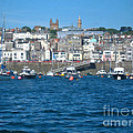 St Peters Port Guernsey  by Phyllis Kaltenbach