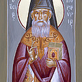 St Porphyrios The Kavsokalyvitis by Julia Bridget Hayes