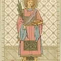 St Stephen Print by English School