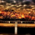Stadium Sunset by Jim Albritton