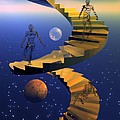 Stairway To Imagination by Claude McCoy