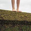 Standing On A Jetty by Edward Fielding
