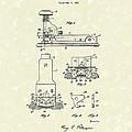Stapler 1932 Patent Art by Prior Art Design