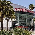 Staples Center In Los Angeles California by Paul Velgos