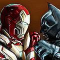 Stark Industries Vs Wayne Enterprises by Vinny John Usuriello
