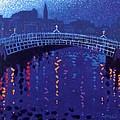 Starry Night In Dublin by John  Nolan