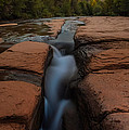 Starry Night Sluice Box Photography At Red Rock Crossing by Mike Berenson