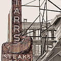 Stars Steaks Frys And Burgers by JC Findley