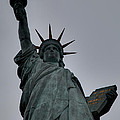 Statue Of Liberty - Paris France - 01132 by DC Photographer