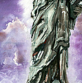 Statue Of Liberty Part 3 by Ginette Callaway
