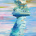 Statue Of Liberty - The Torch by Fabrizio Cassetta