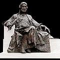 Statue Of Nizami Ganjavi  by Fabrizio Troiani